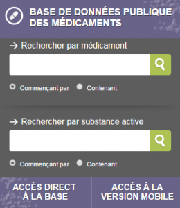 medicament.gouv.fr